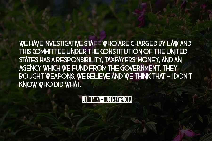 Quotes About Constitution Of The United States #1207189
