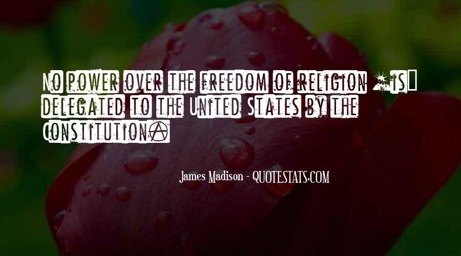 Quotes About Constitution Of The United States #1233979