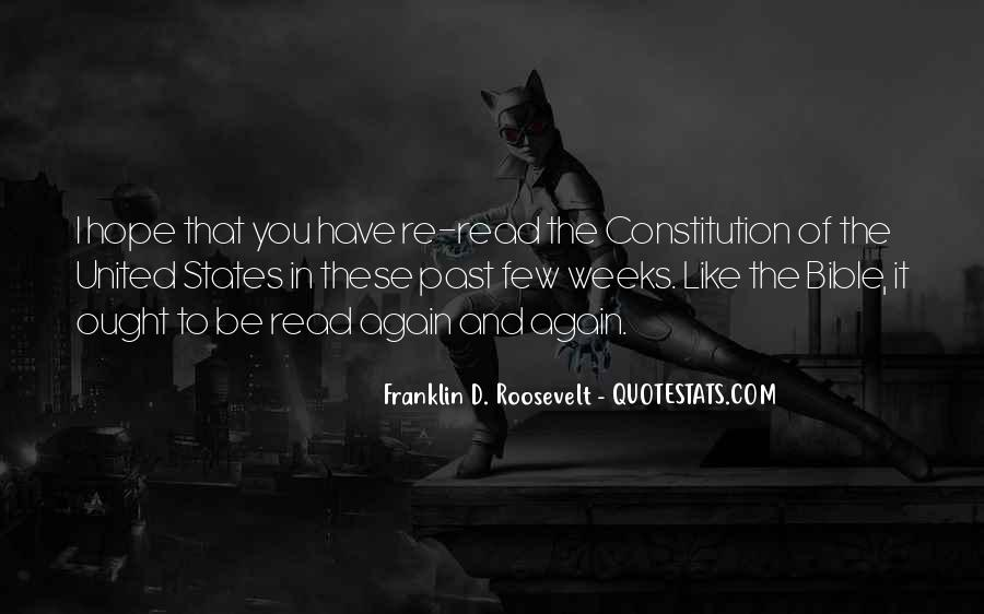 Quotes About Constitution Of The United States #1307715
