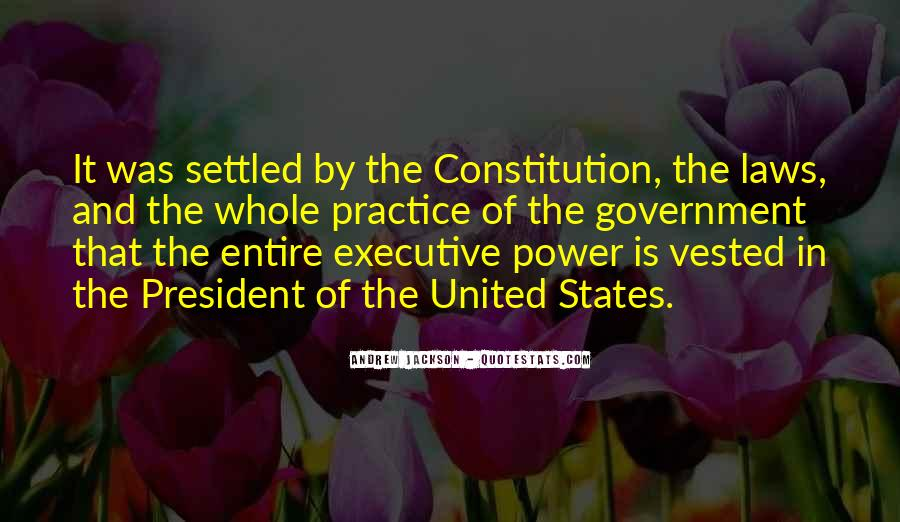 Quotes About Constitution Of The United States #1345784