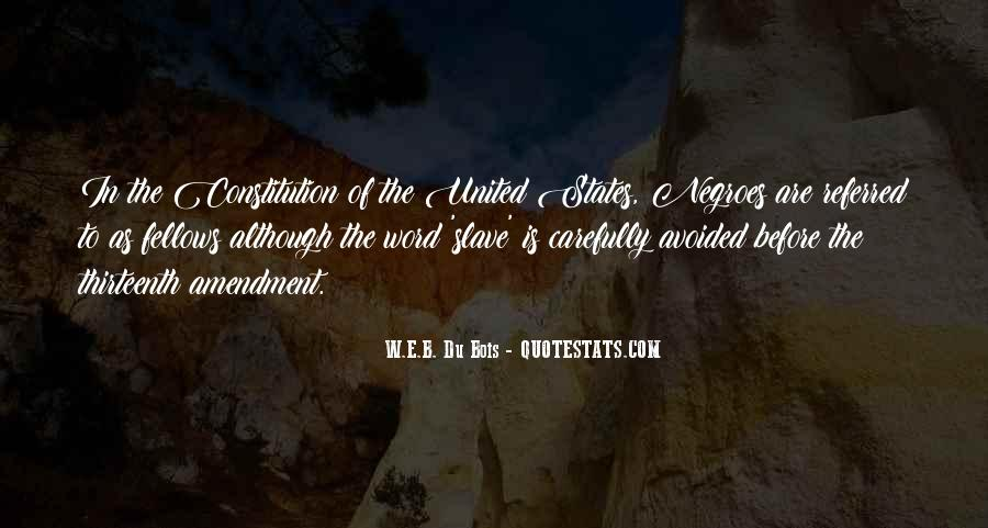 Quotes About Constitution Of The United States #1346419