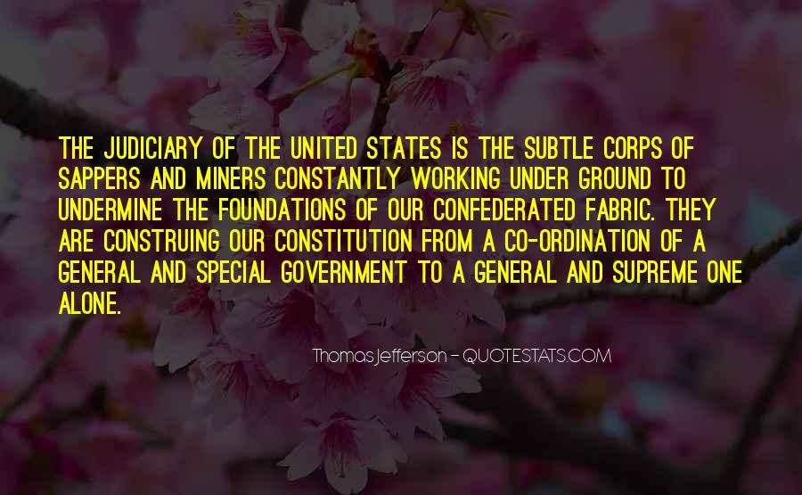 Quotes About Constitution Of The United States #1377754