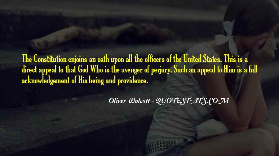 Quotes About Constitution Of The United States #1500412