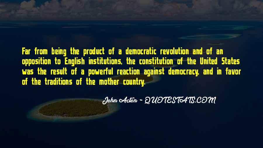 Quotes About Constitution Of The United States #1544646