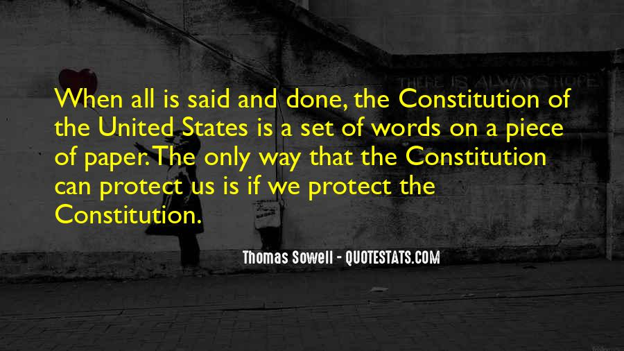 Quotes About Constitution Of The United States #1588592