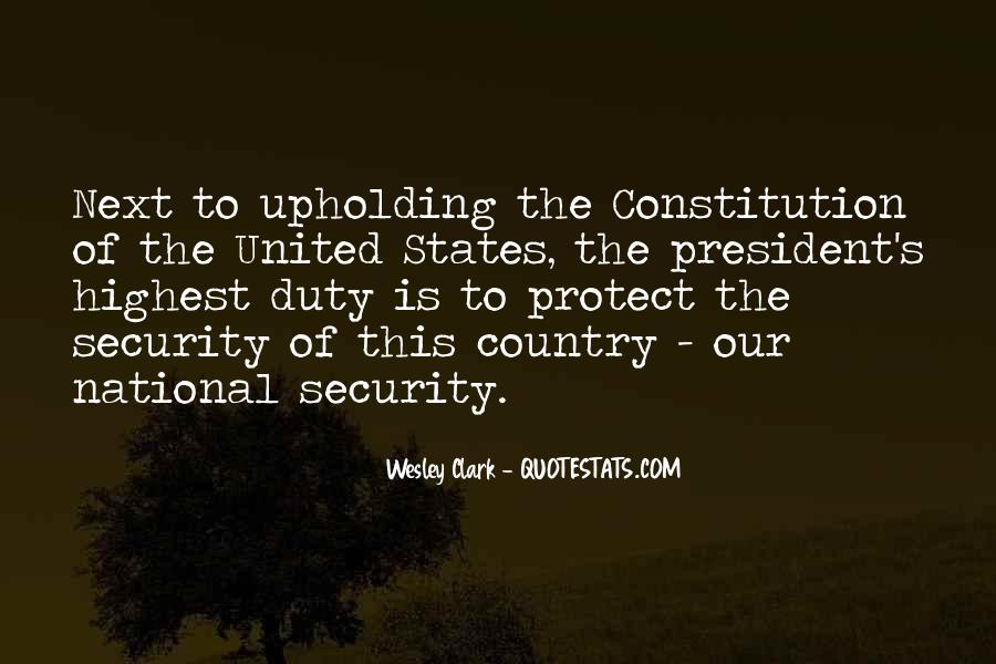 Quotes About Constitution Of The United States #174423
