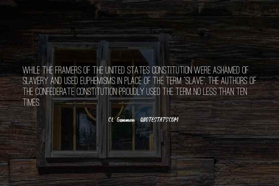 Quotes About Constitution Of The United States #320971