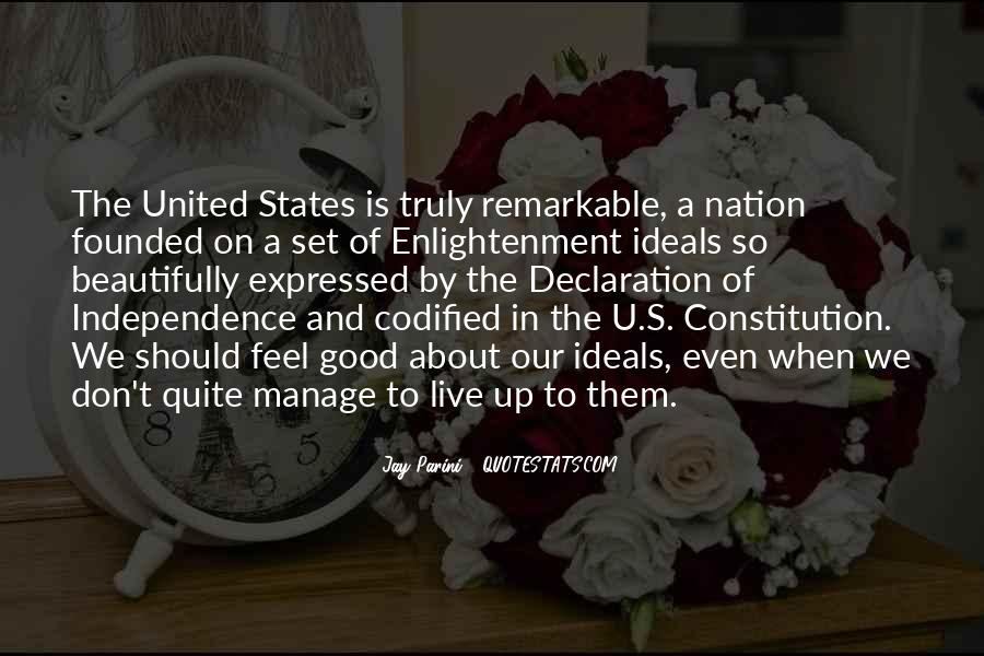 Quotes About Constitution Of The United States #358719