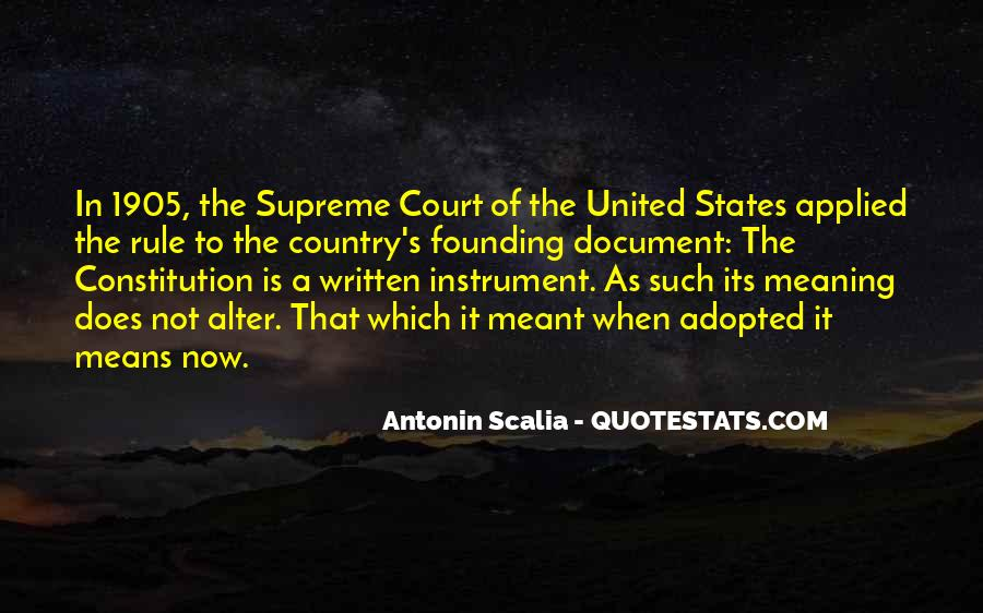 Quotes About Constitution Of The United States #370040