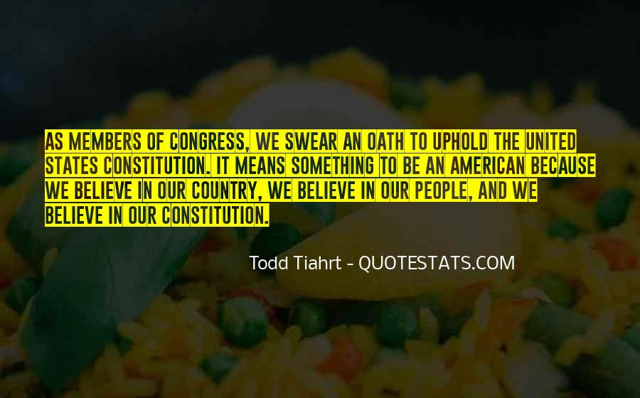 Quotes About Constitution Of The United States #487342