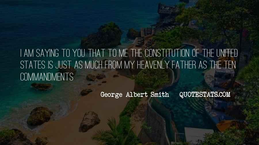 Quotes About Constitution Of The United States #574609