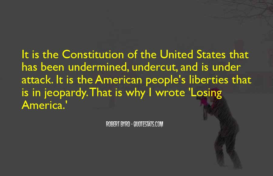 Quotes About Constitution Of The United States #638860