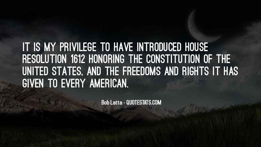 Quotes About Constitution Of The United States #706299