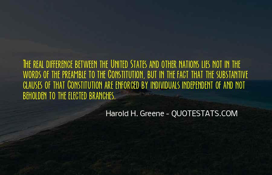 Quotes About Constitution Of The United States #728486