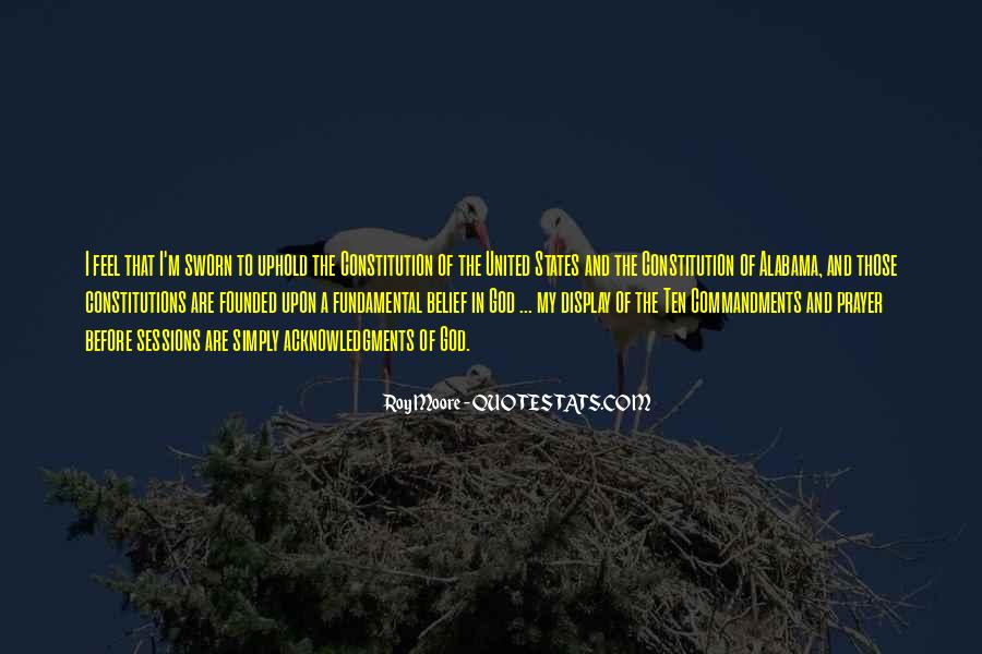 Quotes About Constitution Of The United States #784646