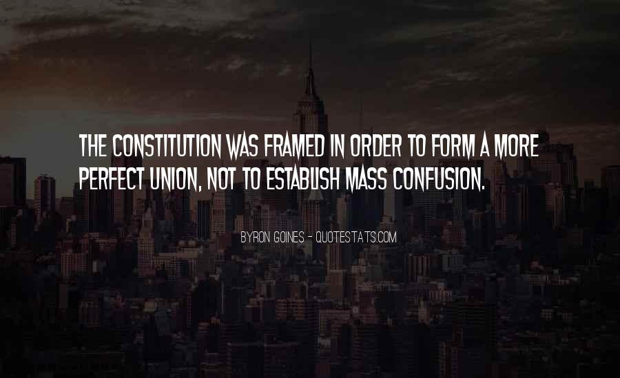 Quotes About Constitution Of The United States #862769