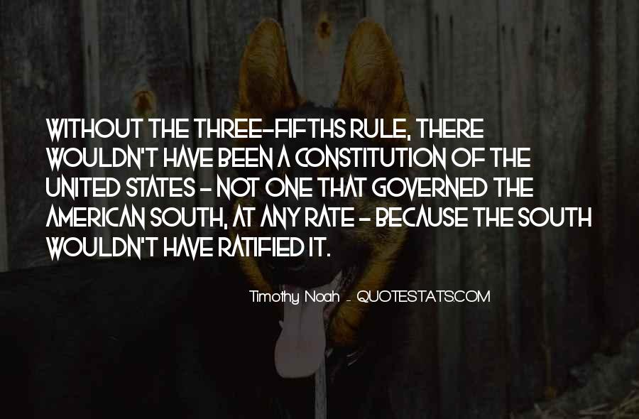 Quotes About Constitution Of The United States #867515