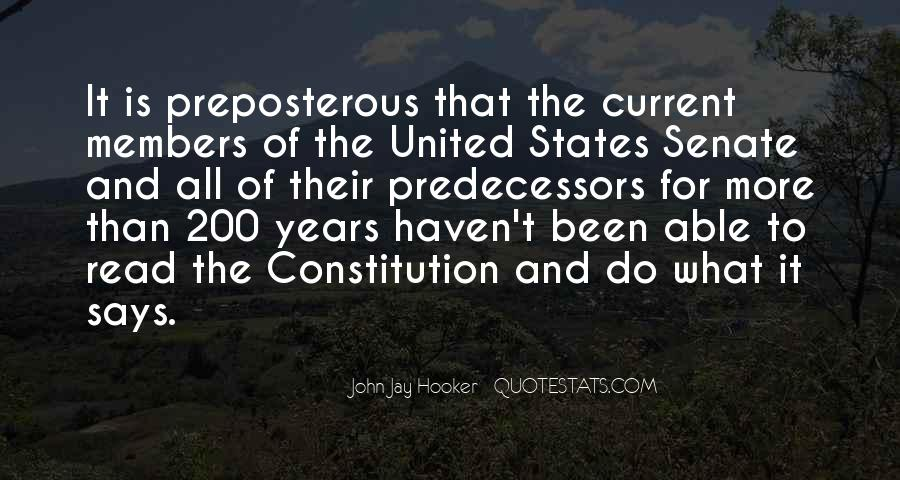 Quotes About Constitution Of The United States #869095