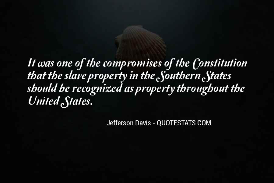 Quotes About Constitution Of The United States #893565