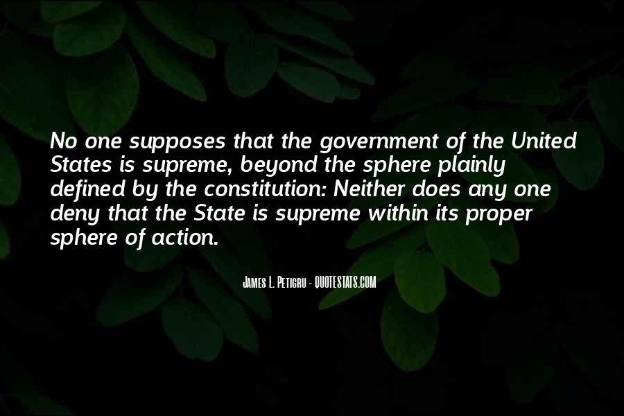 Quotes About Constitution Of The United States #926379