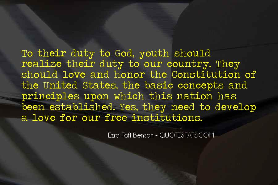 Quotes About Constitution Of The United States #938682