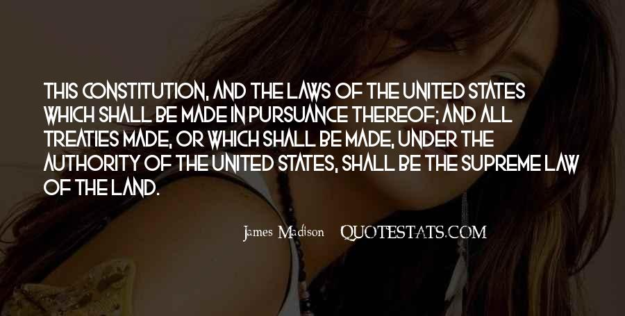 Quotes About Constitution Of The United States #947533