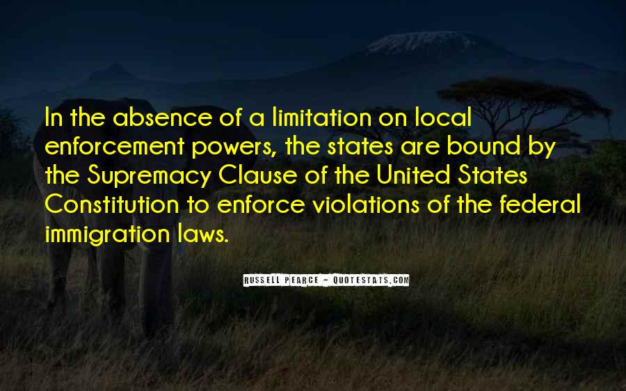 Quotes About Constitution Of The United States #959896