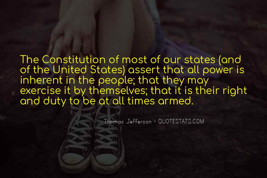 Quotes About Constitution Of The United States #967344