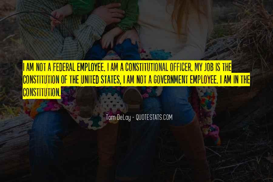 Quotes About Constitution Of The United States #977126