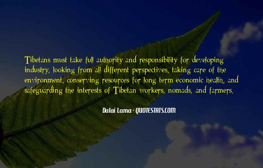 Quotes About Conserving Environment #37406