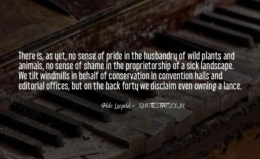 Quotes About Conservation Of Animals #645571