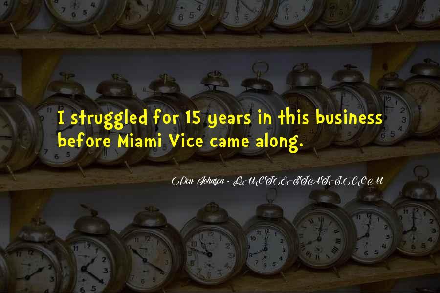 Miami Vice Quotes #465140
