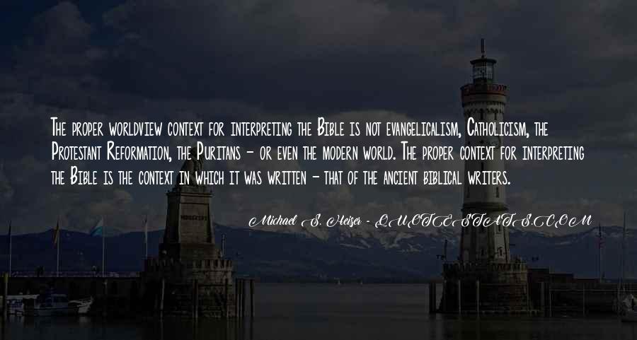 Michael Heiser Quotes #946496