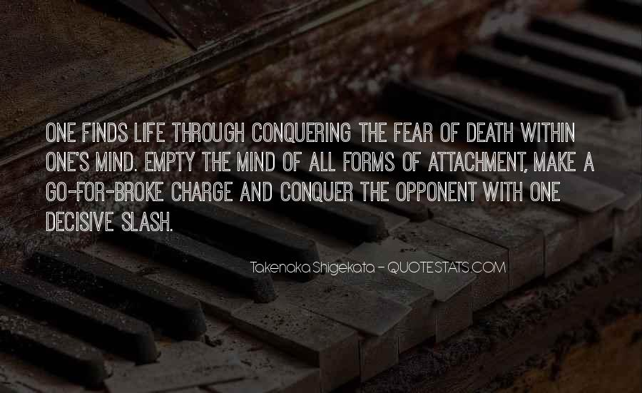 Quotes About Conquering Life #1237989