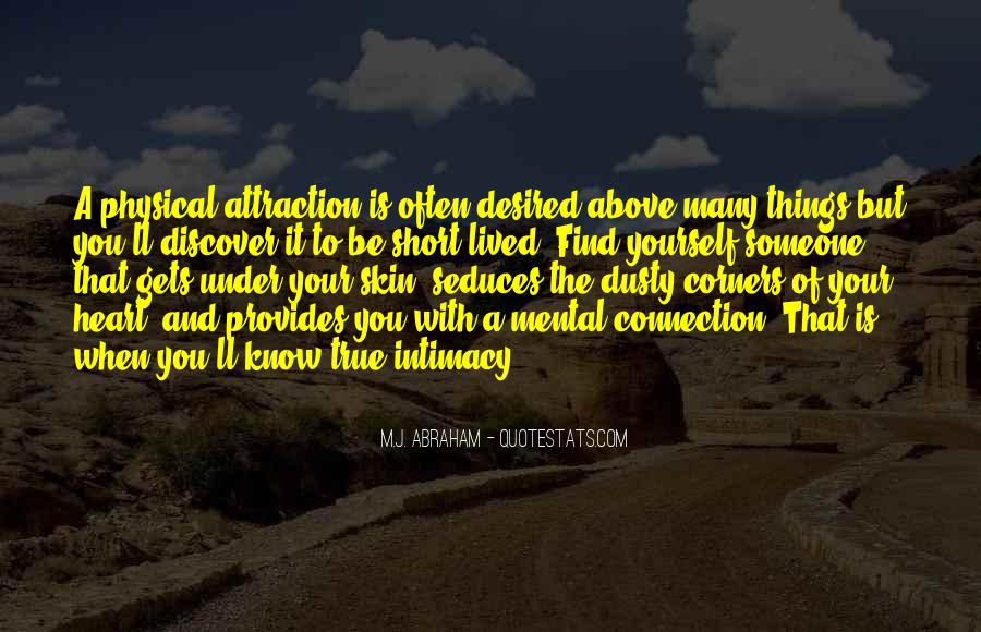 Quotes About Connection With Someone #1525803