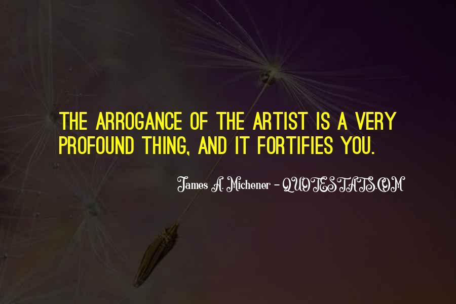Michener Quotes #1026359