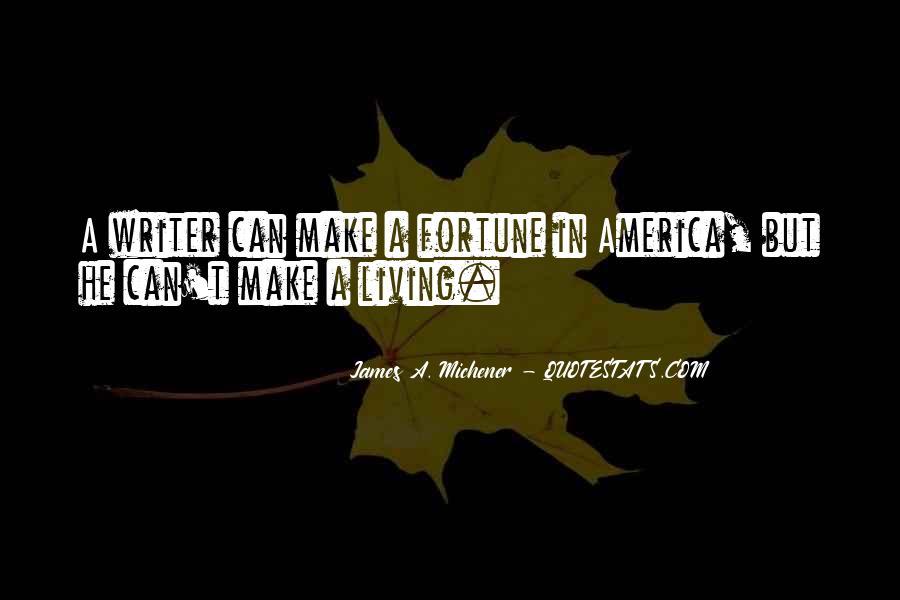Michener Quotes #1121270