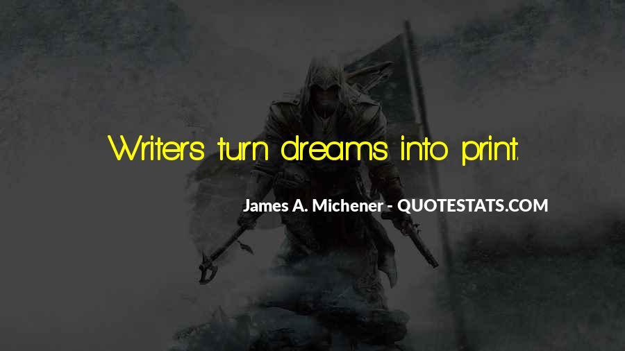 Michener Quotes #1151821