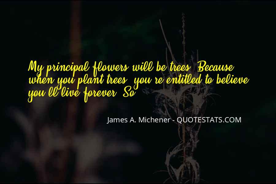 Michener Quotes #1166383