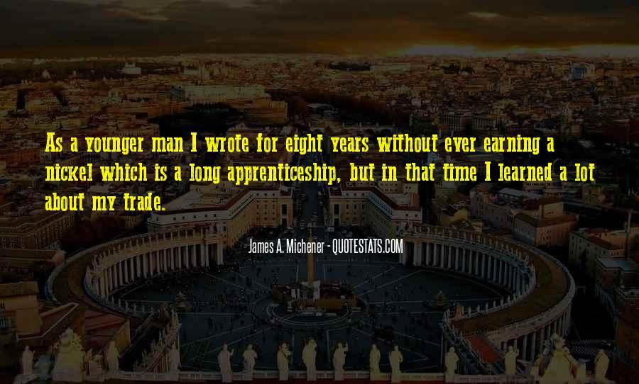 Michener Quotes #1175919