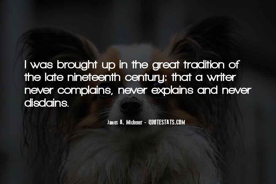 Michener Quotes #119204
