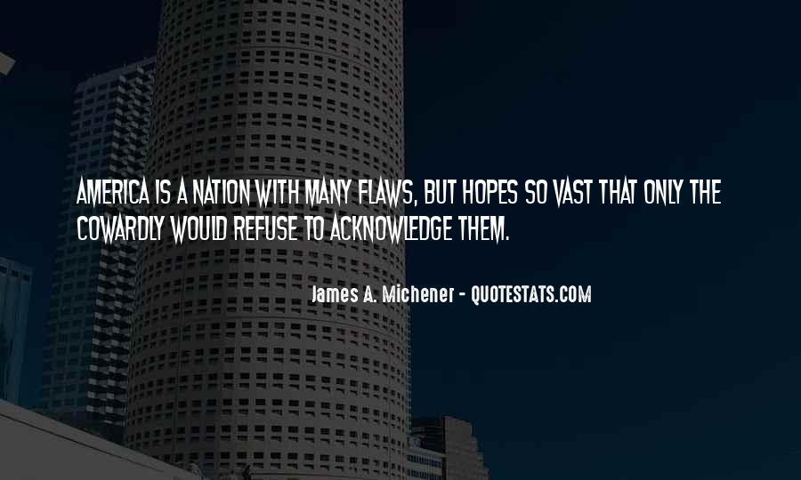Michener Quotes #1230924