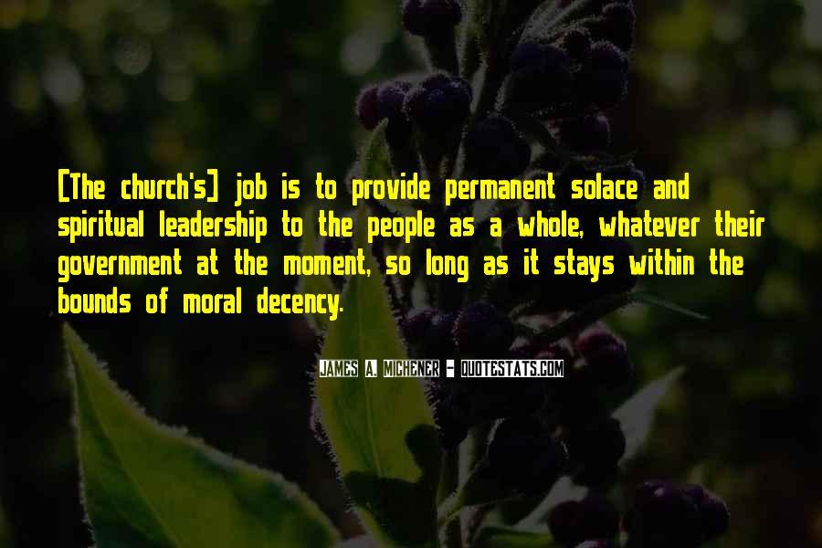 Michener Quotes #1255079