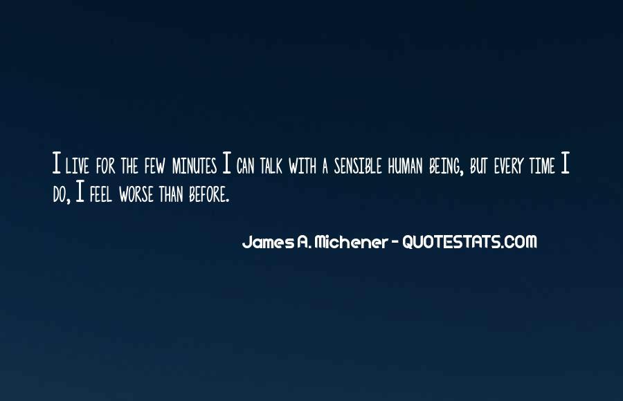 Michener Quotes #181114