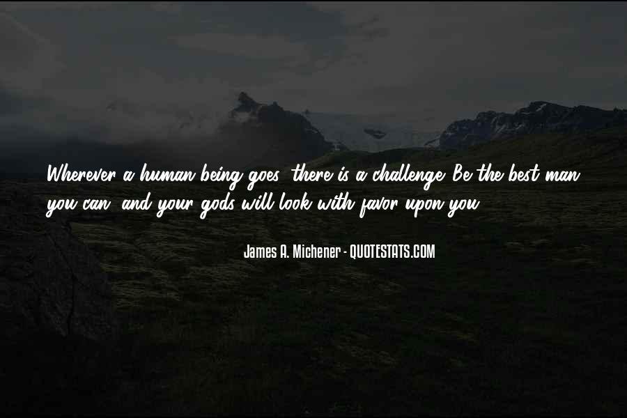 Michener Quotes #190696