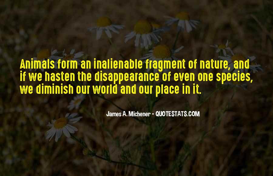 Michener Quotes #22011