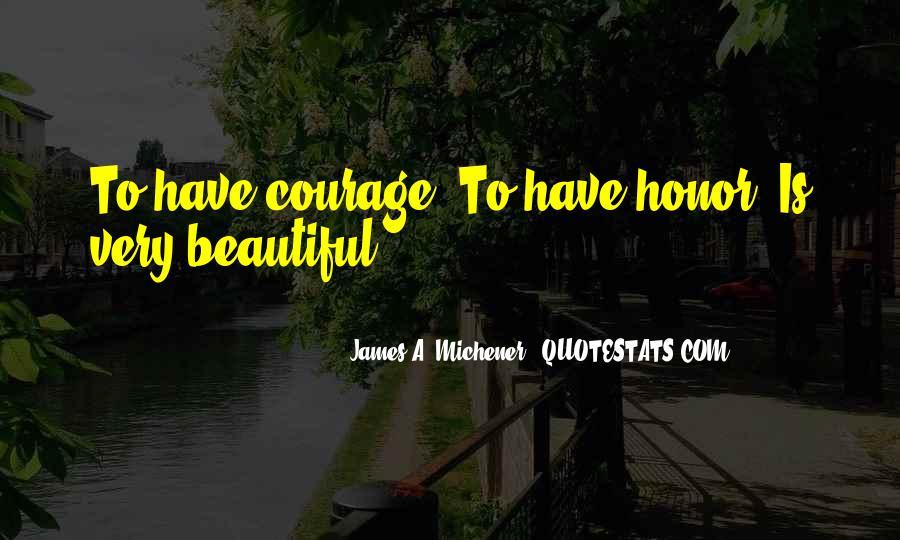 Michener Quotes #240883