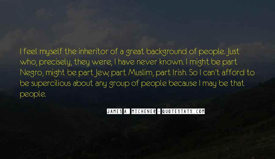 Michener Quotes #274897
