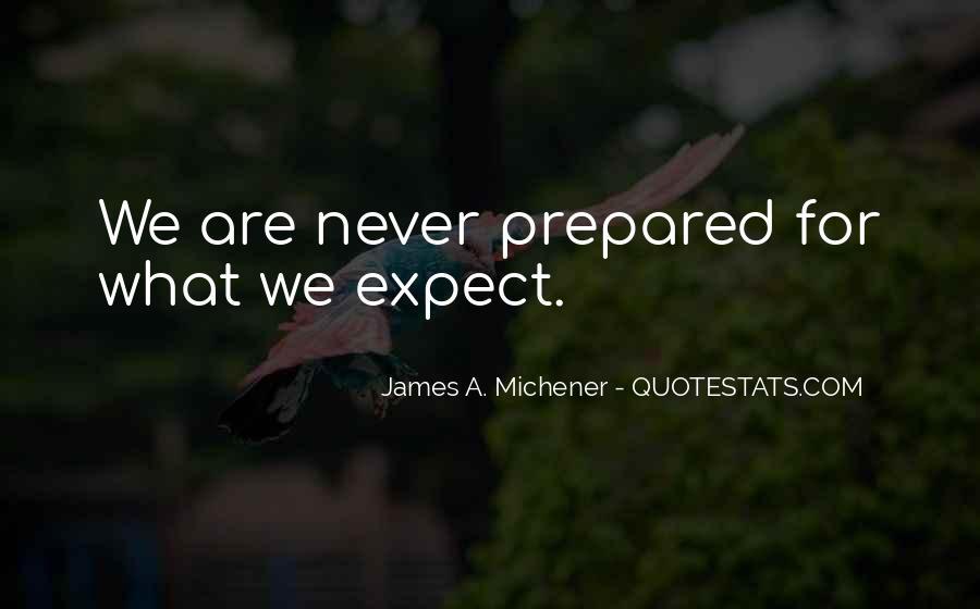 Michener Quotes #296790