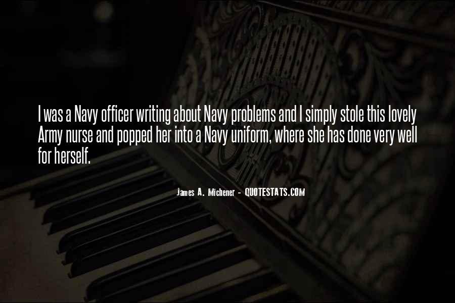 Michener Quotes #47356